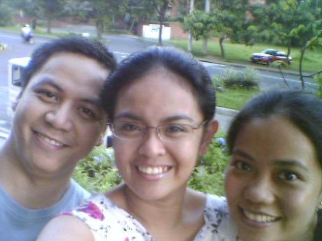 roel, me & joie in UP