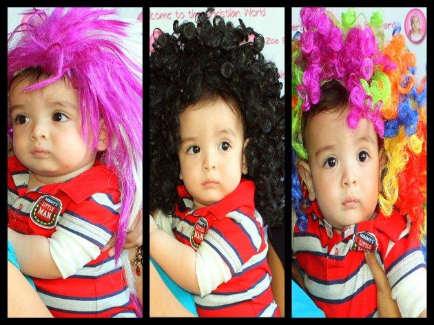 Joaqui and His Hair