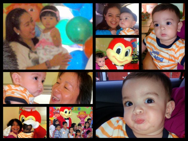 Joaqui Goes to: Adara's Jollibee Birthday Party!