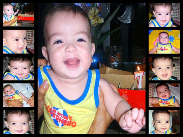 Happy 7th month, baby!