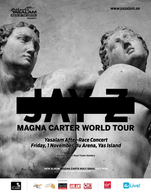 Jay Z Headlining Yasalam Friday After Race Concert