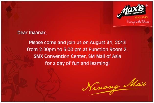 Max's Grand Inaanak Fun Day