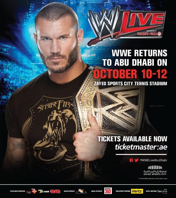 WWE Returns to Abu Dhabi October 10-12