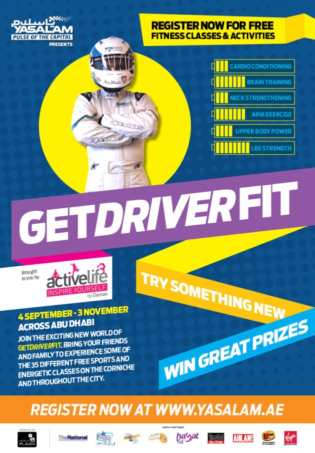 8 Weeks of FREE Fitness Classes For All - Get Driver Fit