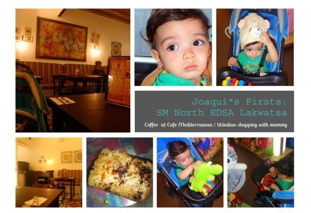 Joaqui's Firsts: SM North EDSA Lakwatsa