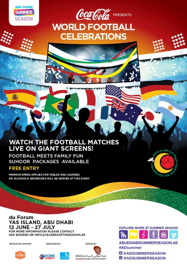 Join in the World Football Celebrations at the du Forum starting this Thursday