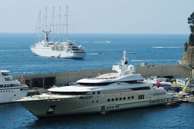 Only one American billionaire's yacht made the list, David Geffen, the producer, film studio executive, and entertainment industry tycoon is worth an estimated $6.3 billion. His superyacht, Pelorus put him back a reported $300 million.