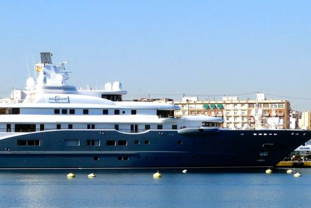 Abdulla Hamad Al Futtaim is the fourth Emirati on the list with his $320 superyacht Radiant.