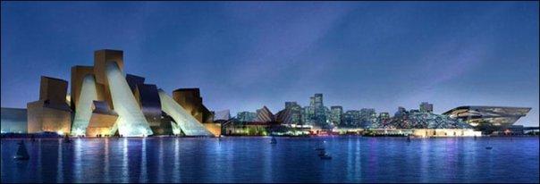 Frank Gehry's Guggenheim Abu Dhabi